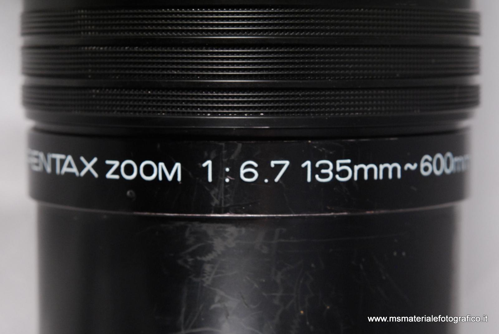 Obiettivo SMC Pentax Zoom 135-600mm f/6,7