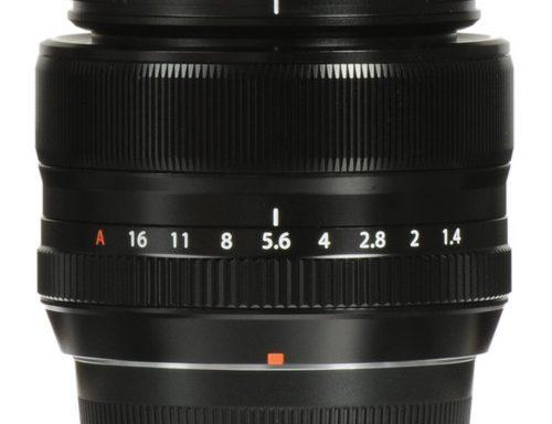 Obiettivo Fujifilm 35mm f/1.4 XF R