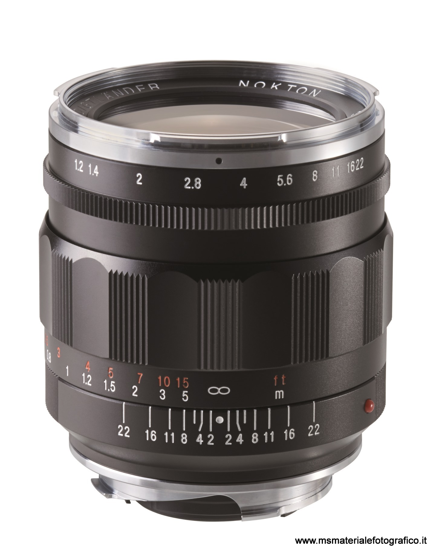 Obiettivo Voigtlander Nokton 35 mm/F1,2 II