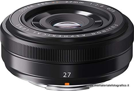 Obiettivo Fujifilm XF27mm F2.8 Pancake