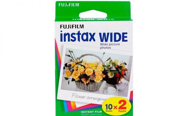 Pellicola Instax wide (2 pack 10 fogli)