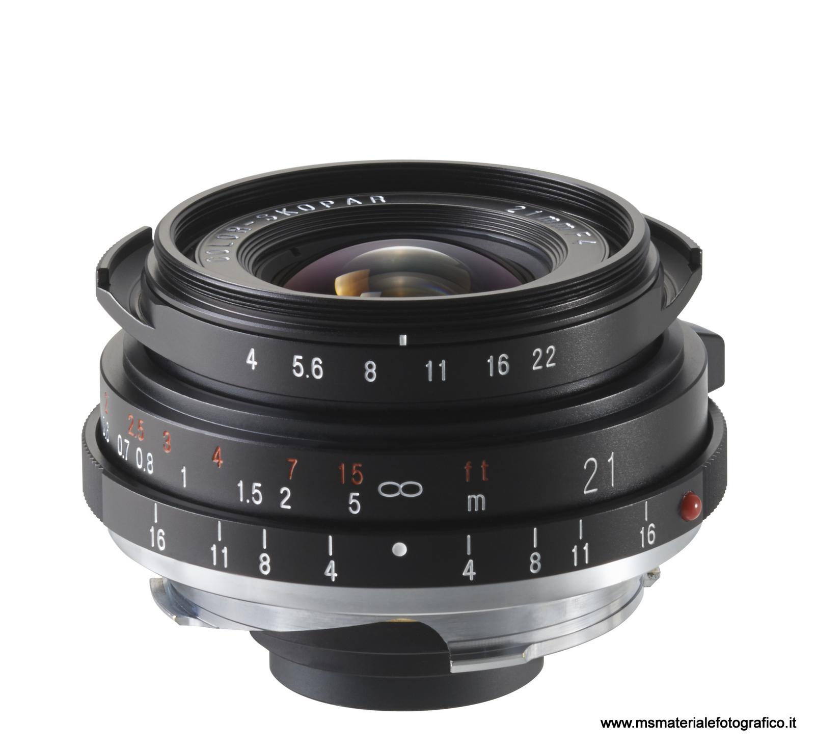 Obiettivo Voigtlander Color Skopar 21mm f/4 P VM