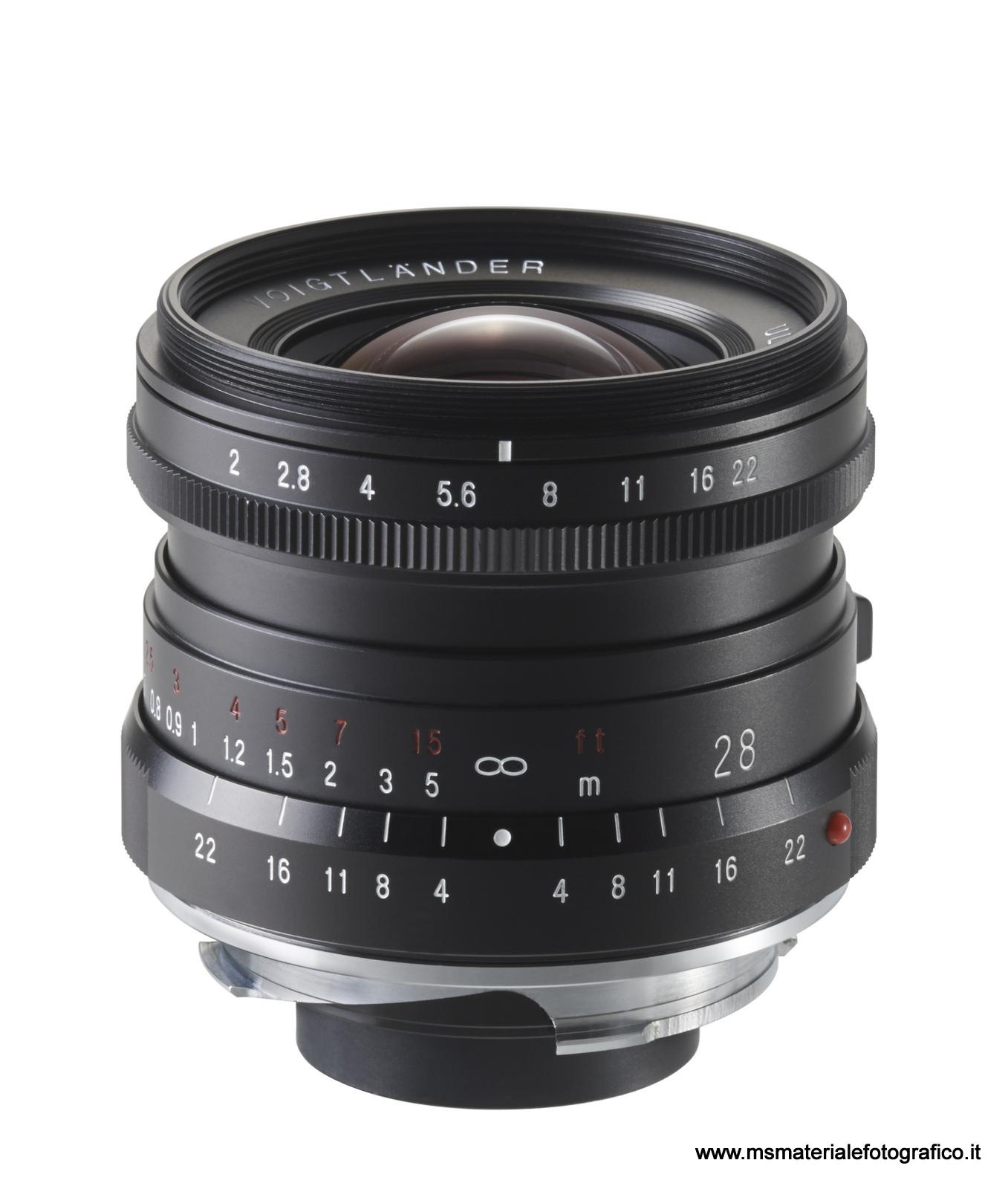 Obiettivo Voigtlander Ultron 28 mm/F2.0