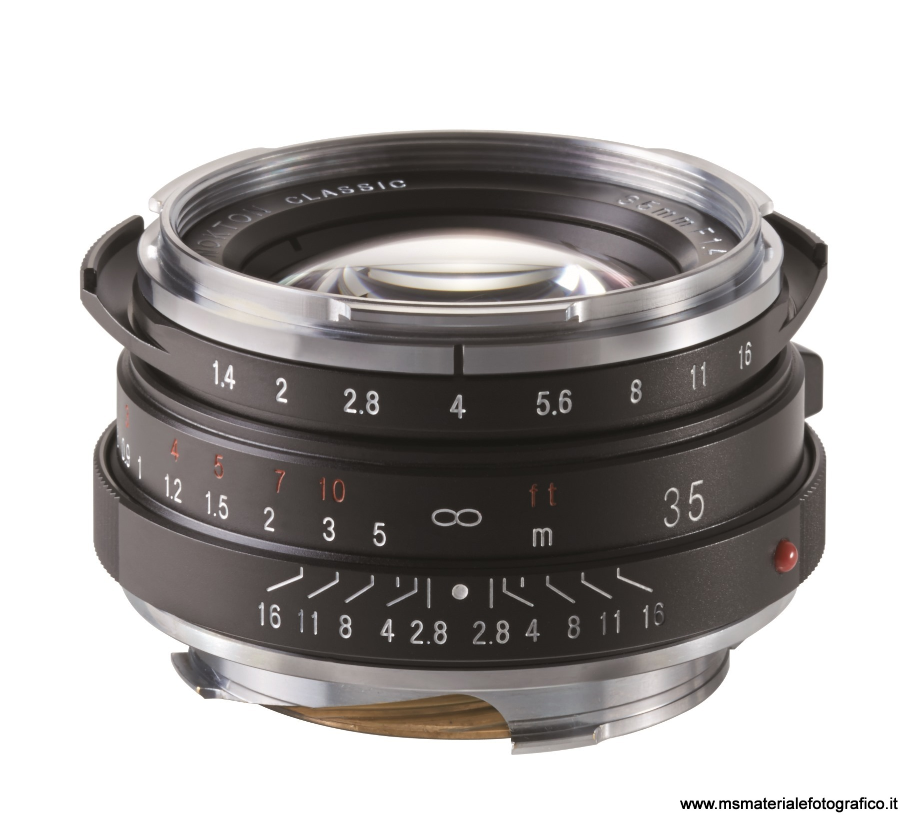Obiettivo Voigtlander Nokton 35 mm/F1,4 VM II (MC o SC)