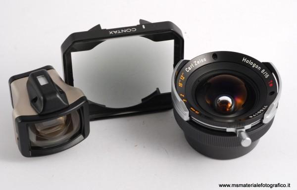 Obiettivo Contax Carl Zeiss Hologon 16mm f/8 per Contax G