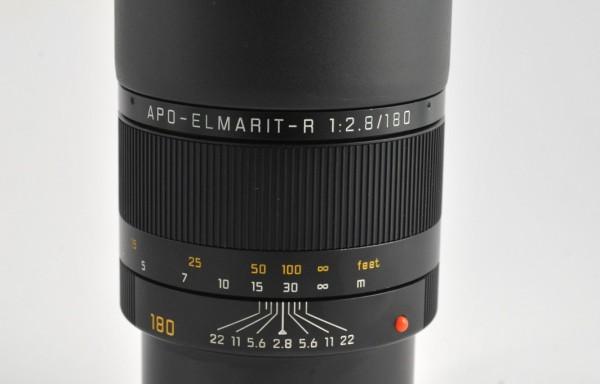 Obiettivo Leica R Apo Elmarit 180mm f/2,8 ROM