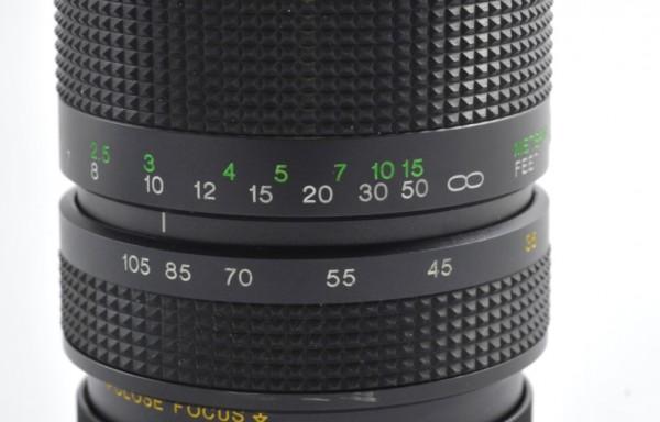 Obiettivo Vivitar 35-105mm f/3,5 per Olympus