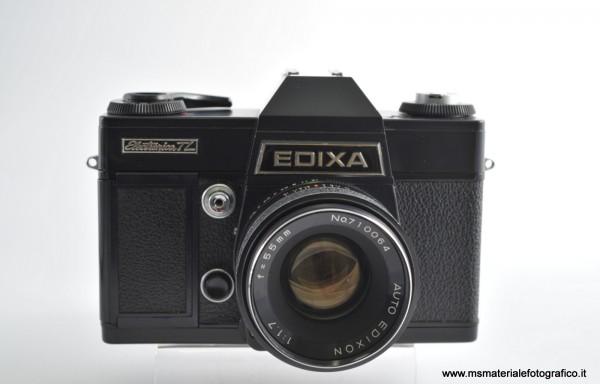 Fotocamera Edixa Electronica TL + Obiettivo Auto Edixon 55mm f/1,7