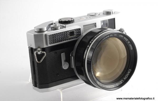 Kit Fotocamera Canon 7 + Obiettivo Canon 50mm f/0,95