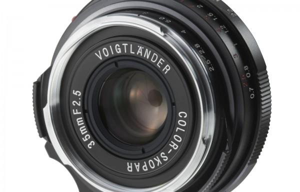 Obiettivo Voigtlander VM 35mm f/2,5 Color Skopar Pancake II