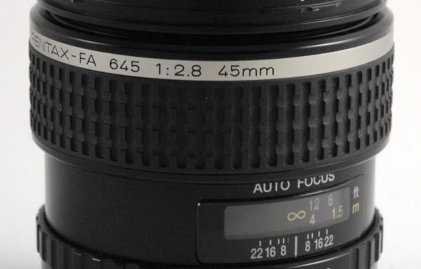 Obiettivo SMC Pentax FA 645 45mm f/2,8