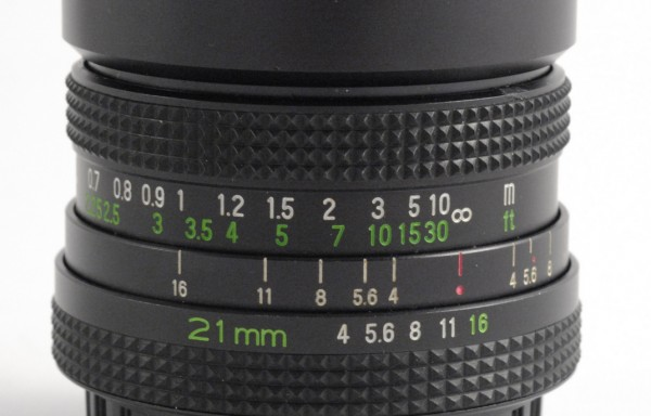 Obiettivo Rollei Rolleinar-MC 21mm f/4