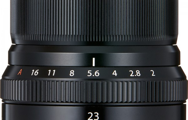 Obiettivo Fujifilm XF 23mm f/2 R WR (Black)