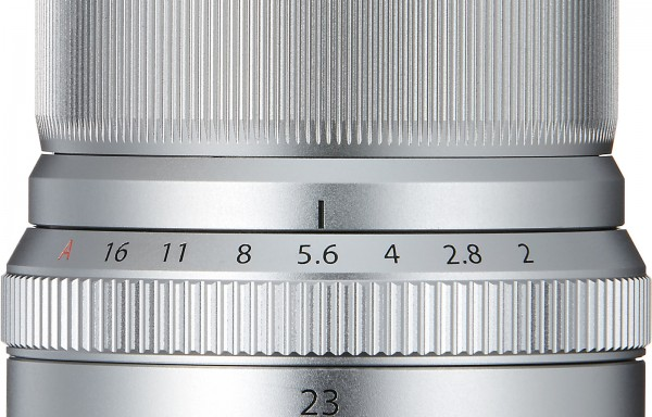 Obiettivo Fujifilm XF 23mm f/2 R WR (Silver)
