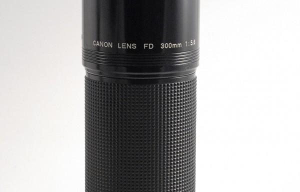 Obiettivo Canon FD 300mm f/5,6