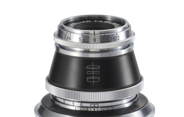 Obiettivo Voigtlander VM 50mm f/3,5 Heliar