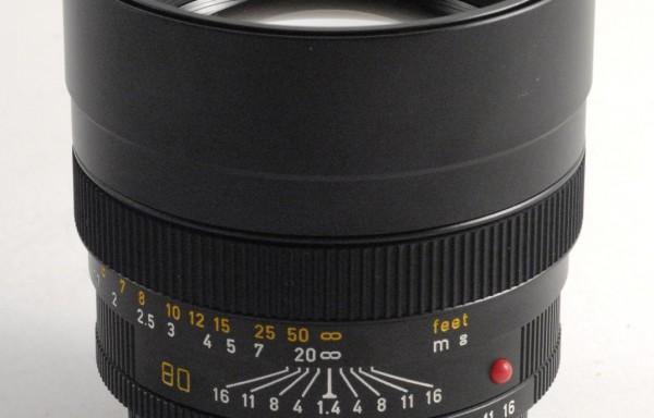 Obiettivo Leica R Summilux 80mm f/1,4