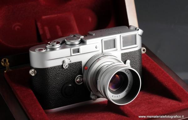 Fotocamera Leica M6 J Giubileo (1954-1994) + Obiettivo Leica M 50mm f/2,8 Elmarit