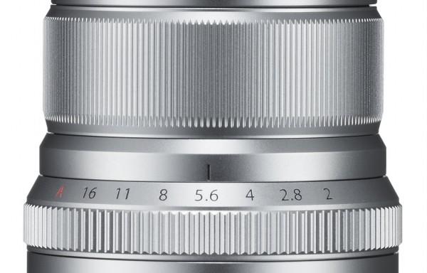 Obiettivo Fujifilm XF 50mm f/2 WR Silver