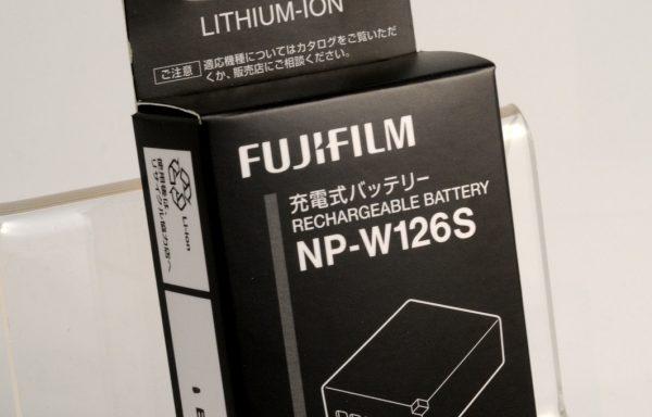 Batteria Ricaricabile Fujifilm NP-W126S