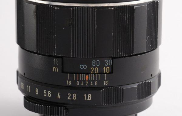 Obiettivo Pentax Takumar 85mm f/1,8 M42