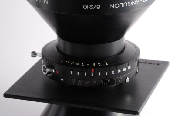 Obiettivo Super Angulon 210mm f/8