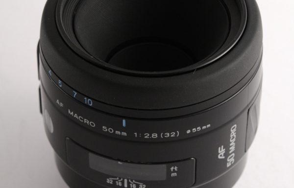 Obiettivo Minolta AF Macro 50mm f/2,8 per Sony A