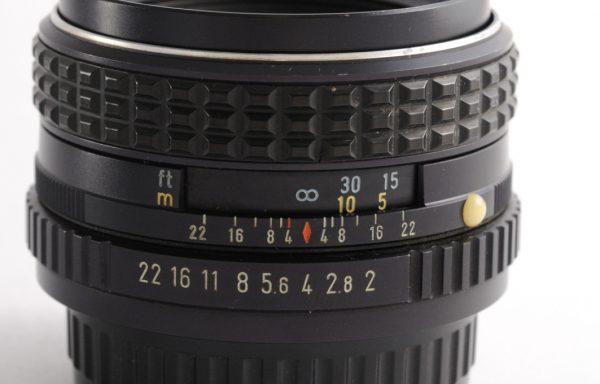 Obiettivo Pentax 55mm f/2