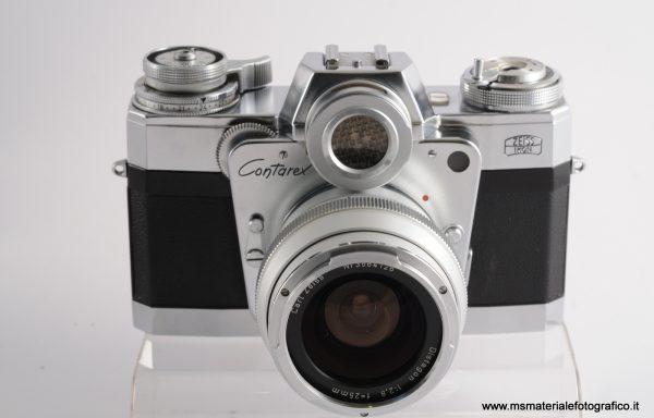 Fotocamera Contarex Bullseye + Obiettivo Distagon 25mm f/2,8