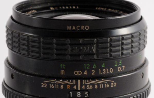 Obiettivo Sigma 28mm f/2,8 per Nikon