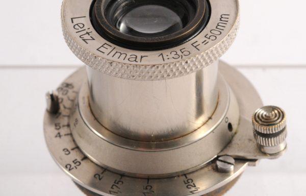 Obiettivo Leitz Elmar 50mm f/3,5 nichel