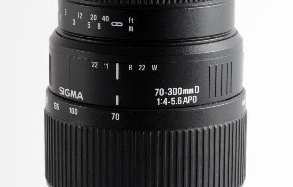 Obiettivo Sigma 70-300mm f/4-5,6 APO D per Nikon
