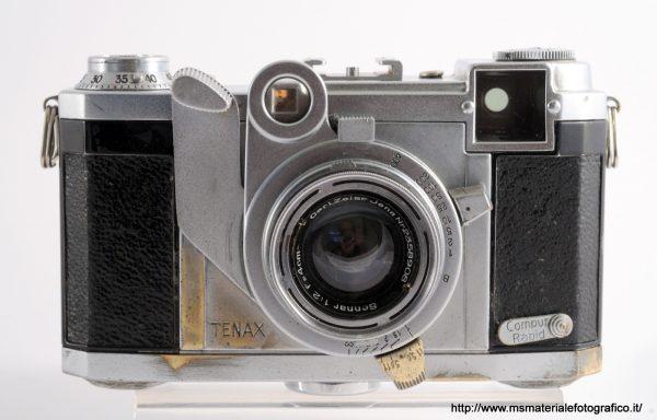 Fotocamera Tenax con obiettivo Zeiss Sonnar 40mm f/2
