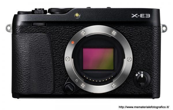 Fotocamera Fujifilm X-E3 Black (solo corpo)