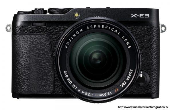 Fotocamera Fujifilm X-E3 Black + Obiettivo Fujinon XF 18-55mm f/2,8-4 R LM OIS
