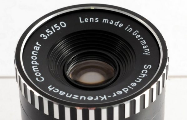 Obiettivo da ingrandimento Schneider Componar 50mm f/3,5 (New Old Stock)
