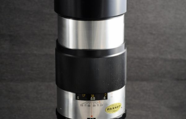 Obiettivo Yashinon-DX 300mm f/5,6 a vite M42 Screw Mount