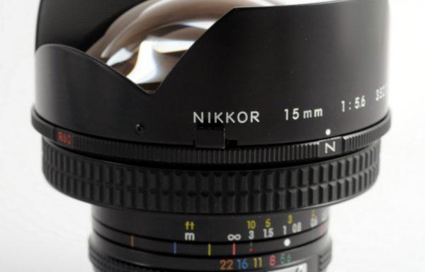 Obiettivo Nikon 15mm f/5,6 AI