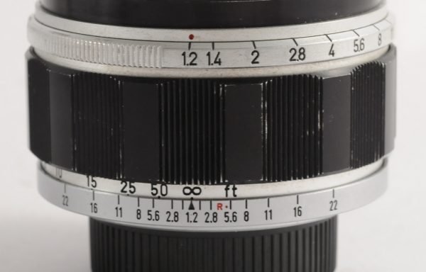Obiettivo Canon M39 50mm f/1,2