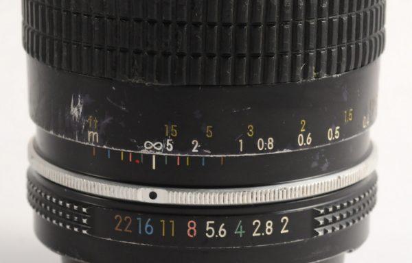 Obiettivo Nikkor-K 28mm f/2 mod AI