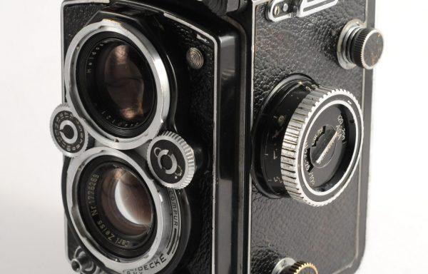Fotocamera Rolleiflex Planar 3,5 + custodia