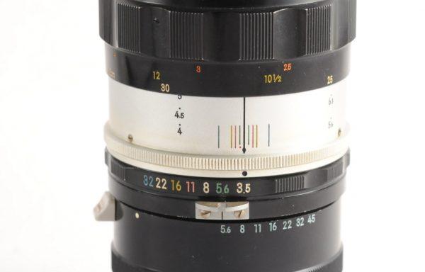 Obiettivo Micro Nikkor 55mm f/3,5 + Anello macro