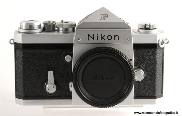 Fotocamera Nikon F Silver red dot