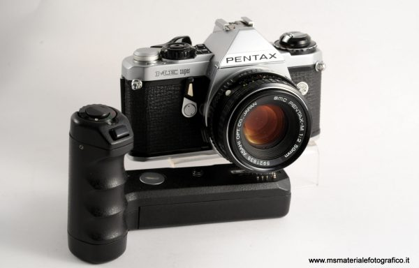 Kit Fotocamera Pentax ME Super + 50mm f/2 + Motore in omaggio