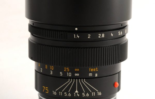 Obiettivo Leica M Summilux 75mm f/1,4
