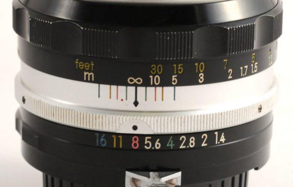 Obiettivo Nikkor S 50mm f/1,4 mod AI