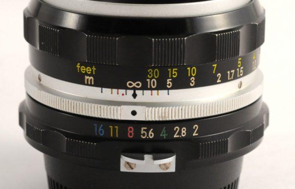 Obiettivo Nikkor H 50mm f/2