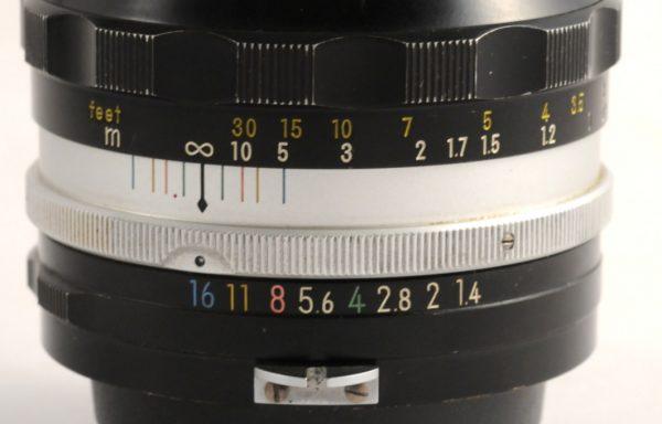 Obiettivo Nikkor S 50mm f/1,4