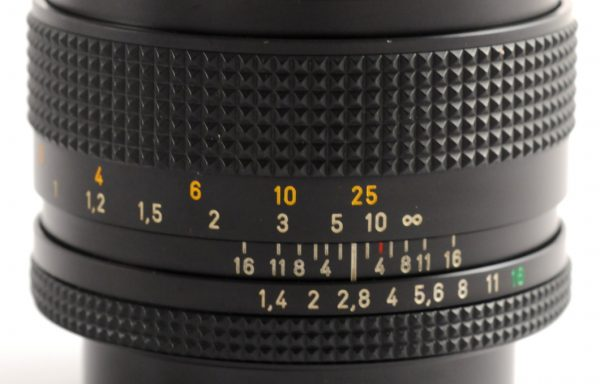 Obiettivo Contax Planar 50mm f/1,4