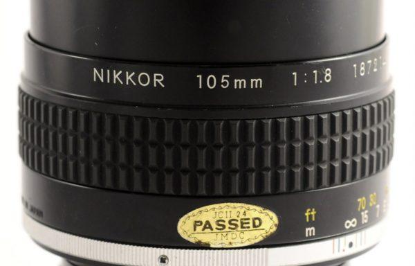 Obiettivo Nikkor AI-S 105mm f/1,8